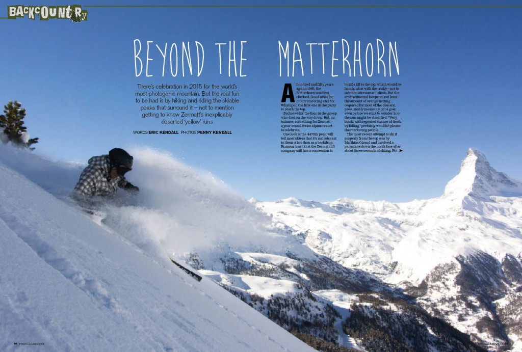 Explore europe with fall line fall line media ltd its a special year for the matterhorn but we discover that the mountains surrounding the freerunsca Image collections